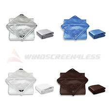 Tarp Poly Tarpaulin Canopy Tent Shelter Car Boat Reinforced Resistant Cover Top