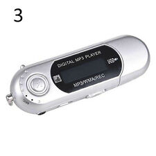 Excellent 32G TF Card Slot Supported USB Flash MP3 Player With FM Radio Earphone