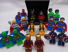 Hand Made NOVELTY Super hero CUFFLINKS ~ made using BRICK Compatible pieces