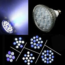 E27 21W-54W LED GROW LIGHT Lamps For Reef Coral Fish Tank Aquarium White Blue