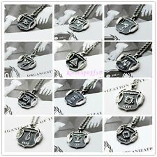 EXO FIRST YEAR XOXO WOLF MEMBER ALLOY NECKLACE LUHAN SEHUN KAI KPOP NEW