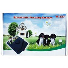 Electric Pet Dog Fence Wireless Waterproof Barrier Boundry Collar System W227