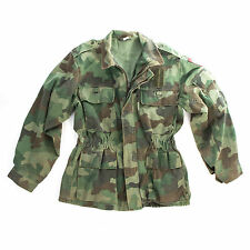 Original Army Camo Field Jacket Yugoslavian / Serbian Military Surplus