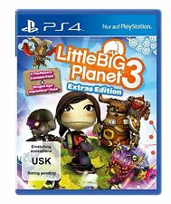 LittleBigPlanet Little big Planet 3 Extras Edition PS4 Boxed