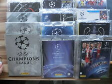 PANINI UEFA CHAMPIONS LEAGUE CL 2000 2001 2002 2006 2007 2008 2009 COMPLETE SET