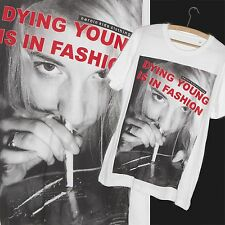Club 27 Grunge Cocaine tumblr SWAG Dope Fresh Party HYPE White T Shirt