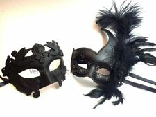 Halloween costume midnight Party Masquerade For man and woman Couple fancy Mask