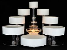 8 TIER CASCADE WEDDING CAKE STAND OR CAKE FOUNTAIN