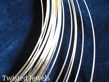 1oz 14KY Gold-Filled Dead Soft HALF-ROUND Jewelry Wire 16 18 20 22 24 GA Gauge