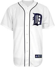 Detroit Tigers MLB Home White Majestic Replica Men's Jersey Big & Tall Sizes