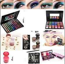 NUOVO Pennelli Trucco Eyeshadow Eye Shadow Palette MAKE UP PROFESSIONAL BOX SET KIT