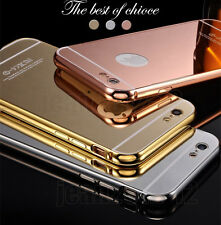 New Special Offer Luxury Mirror Metal Frame Bumper Hard Back Case Cover Skin