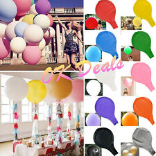 "NEW 36"" Large Giant Big Latex Balloon Wedding Party Birthday Decoration Colorful"
