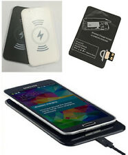Qi Wireless Charger Charging Receiver+Pad Kit For Samsung Galaxy Smartphone PAT
