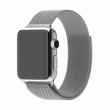 Stainless Steel Strap Strong magnet lock Watch Band For Apple Watch 38/42mm