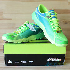 Skechers Go Run 2 Mens Running Shoes Gym Trainers Size UK 11.5 12 US 12.5 13