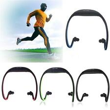 Sport MP3 WMA Music Player TF/ Micro SD Card Wireless Headset Headphone Earphone