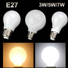 E26 E27 3W 5W 7W LED Globe Light Screw Base Bulb Spot Lamp Cool Warm White Bulb
