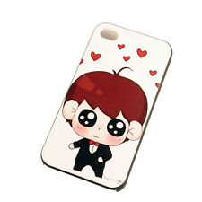 JDHDL Cute Cartoon China-Style Ultra Thin Case PC Protector Cover For Iphone4s