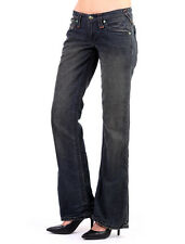 Stitch's Womens Bootcut Jeans Ladies Stretch Boot Cut Ripped Denim Trouser Pants