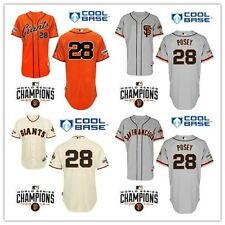 Buster Posey 2015 San Francisco Giants #28 Replica Jersey Multiple styles