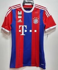 BNWT BAYERN MUNICH  AUTHENTIC HOME 2014 2015 FOOTBALL SOCCER JERSEY TRIKOT
