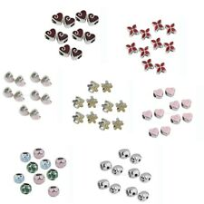10x Alloy Spacer Beads Jewelry DIY Making Pendants Bracelet Charms Findings NEW