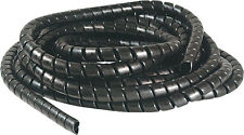 Hydraulic Hose Spiral Wrap Guard Protection - Black - 8 to 10mm