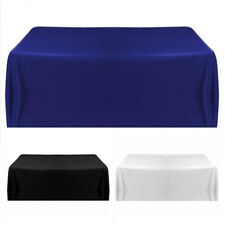 """57x57"""" Satin Tablecloth Table Cover for Wedding Party Restaurant Banquet Decor"""