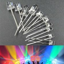 10pcs 100pcs 500pcs 3mm / 5mm colorful DIP LED lamp beads for DIY light angle