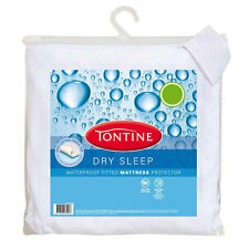 Tontine Dry Sleep Waterproof Fitted Mattress Protector 5 Sizes