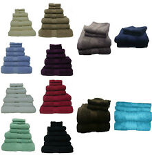 SOFT PREMIUM QUALITY 100% EGYPTIAN COTTON 550 GSM TOWELS SINGLE OR BALE SETS