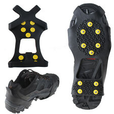 Anti Slip Snow Shoes Crampons Cleats Studded Ice Traction Studded Ice Shoes