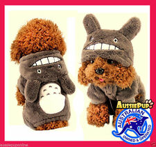 Halloween Cosplay Totoro Fun Costume Cute Anime Onesie Pet Dog Puppy Clothes