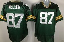 Nike Packers #87 Jordy Nelson Green Men's Stitched NFL New Elite Jersey