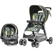 Baby Travel System Newborn Stroller Car Seat Combo Light Foldable New