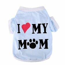 Lovely Summer Pet Puppy Small Dog Cat Pet Clothes Vest T Shirt Apparel S-L