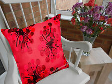 """Luxury Quality Cotton Retro Vintage Cushion Covers or Filled 18""""X 18"""" Free P&P!!"""