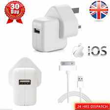 iPhone 1st / 3G /3GS /4/4S/4GS iPad 2/3 USB DATA SYNC CHARGING + CHARGER