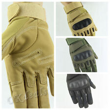 Outdoor Military Airsoft Hunting Shooting Motorcycle Armed Fight Tactical Gloves