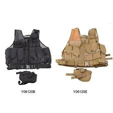 Tactical Hunting Combat Assault Vest FOR Training Airsoft CS Paintball 0PJ8