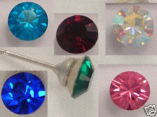 Swarovski Elements Crystal Stud Earrings Gift Wedding Muti colors