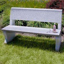 Signature Hardware Meadowview Polished Granite Bench