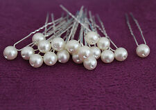 50/100 PCS Ivory Color Pearl Hair Pins Hair Accessory Prom Party Wedding Bridal