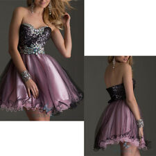 Short Mini Evening Party Dress Homecoming Dress Prom Cocktail Dresses Size 6-16
