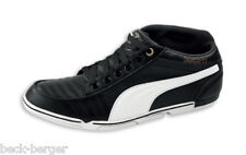 DUCATI Puma 65 cc half-height Sneakers Shoes trainers black white new