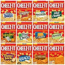 Cheez-It Baked Snack Crackers, Pack of 4  Various flavors to choose from.