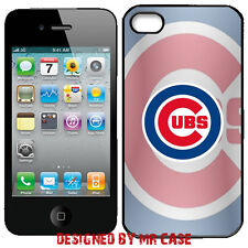 MLB Chicago Cubs iPhone  4 & 4S, 5 & 5S, 6 & 6 Plus TPU Phone Case