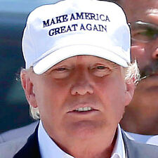 MAKE AMERICA GREAT AGAIN Hat Donald Trump for President 2016 Adjustable Cap