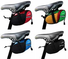 Outdoor Bike Cycling Bicycle Saddle Bag Seat Back Tail Pouch Package Storage